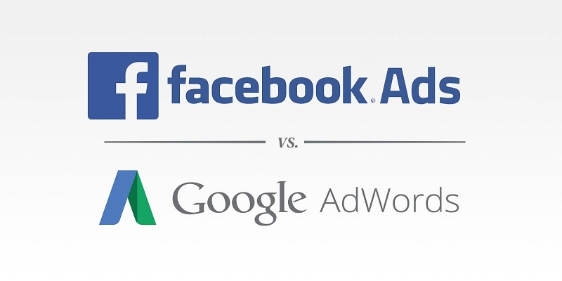facebook-vs-adwords-ads. Incrementare il business online